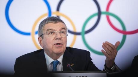 IOC-Chef Thomas Bach gab zu, dass die Neuorganisation der Olympischen Spiele eine «Mammutaufgabe» sei.