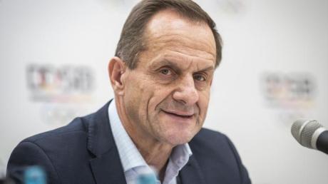Alfons Hörmann fürchtet als Folge der Corona-Krise einen Mitgliederschwund und ein Vereinssterben.
