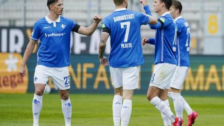 Darmstadt 98 setzte sich daheim gegen den FC St. Pauli durch.