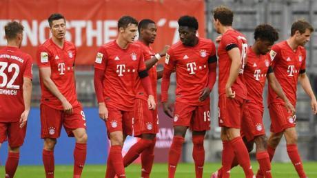 Der FC Bayern München war vor dem Gipfeltreffen mit dem BVB in Torlaune.