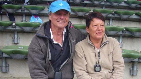 Die langjährigen Organisatoren der Sportabzeichenaktion beim TSV Nördlingen, Otto und Renate Troll.