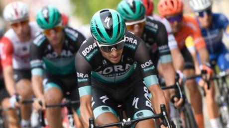 Will bei der Tour de France auf's Podium:Emanuel Buchmann.