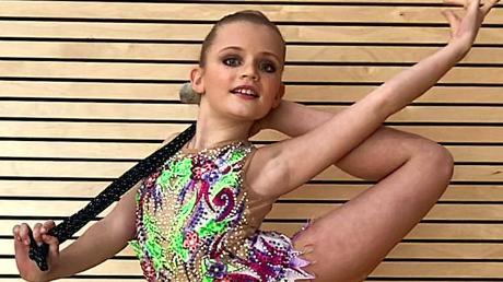 Sportgymnastin Luzie-Riva Lampe ist die Sportlerin des Monats.