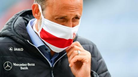 VfB-Coach Pellegrino Matarazzo trifft mit seinem Team im Spitzenspiel auf den HSV.