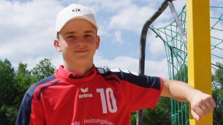 Bei den Handball-B-Junioren des TSV Neuburg zählt Joschua Koch zu den absoluten Leistungsträgern.