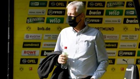 BVB-Coach Lucien Favre hatte mit seinen Äußerungen für Wirbel gesorgt.