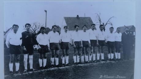 Pokalschreck 1966 - die Elf des FC Schwenningen.