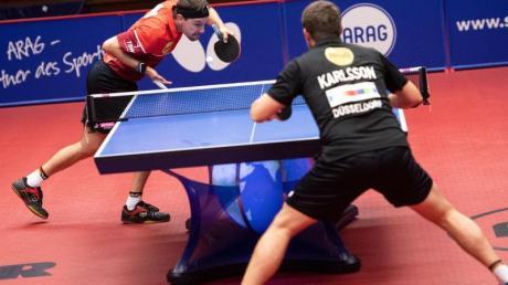 Timo Boll besiegte im Halbfinale den Schweden Kristian Karlsson in 3:1 Sätzen.
