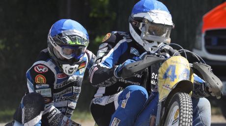 Die ersten Trainingsläufe mit seinem neuen Beifahrer Richard Köhler absolvierte AMCH-Gespannfahrer Markus Brandhofer.