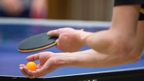 Zurück in den Trainingsbetrieb: Ab Montag dürfen die Tischtennisspieler wieder in Innenräumen trainieren.