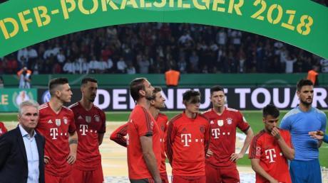 Vor zwei Jahren verlor der FC Bayern München das DFB-Pokalfinale gegen Eintracht Frankfurt.