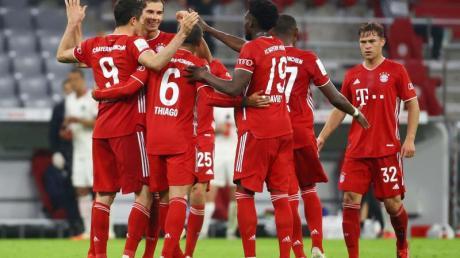 Der FC Bayern München kann am Wochenende schon deutscher Meister werden.