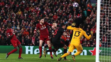 Am 11. März spielte der FC Liverpool in der Champions League gegen Atlético Madrid.