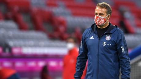 Will mit den Bayern auch in Mönchengladbach gewinnen: Münchens Trainer Hansi Flick.