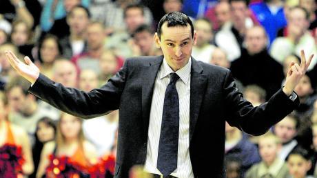 Stefan Koch in seinem ersten Beruf als Trainer in der Basketball-Bundesliga. Zwei Jahre lang hat er unter anderem beim damaligen SV Tally Oberelchingen gearbeitet.