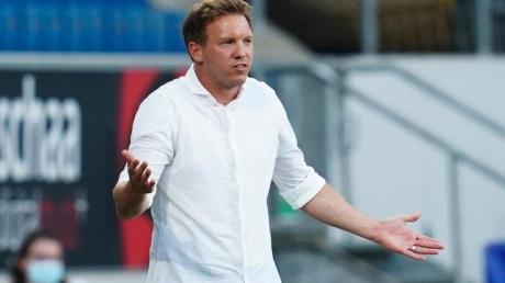 Leipzigs Trainer Julian Nagelsmann rechnet nicht mehr mit einem Verbleib von Timo Werner.