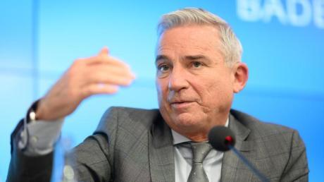 Thomas Strobl (CDU) soll seine Partei in Baden-Württemberg in eine grün-schwarze Koalition führen.