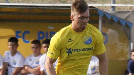 Torjäger Pablo Pigl bleibt beim FC Pipinsried.