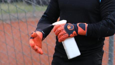 Im Training muss auf die Hygiene-Regeln geachtet werden.