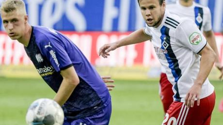 Der HSV verschenkte erneut wichtige Punkte im Aufstiegsrennen.
