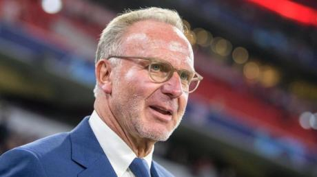 Schaut mit Sorge auf den engen Terminplan: Karl-Heinz Rummenigge, Vorstandschef vom FCBayern München.