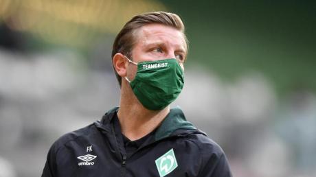 Für Trainer Florian Kohfeldt und Werder Bremen geht es beim Abstiegsduell in Mainz um «alles».