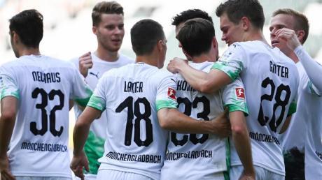 Ein Sieg gegen Absteiger SC Paderborn ist für die Profis von Borussia Mönchengladbach Pflicht.