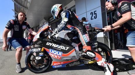 Ein bisschen muss sich Marcel Schrötter noch gedulden, dann geht für den Pflugdorfer Motorradfahrer die Saison nach der Corona-Pause weiter.