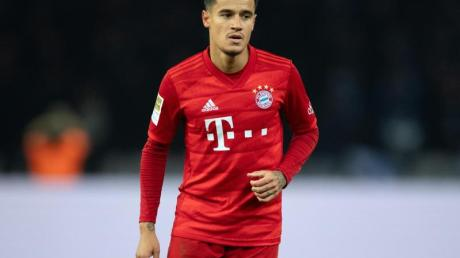 Bayern Münchens Philippe Coutinho kehrt nach einer Knöchel-Operation zurück.