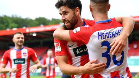 Die Heidenheimer treffen am Sonntag auf den direkten Aufstiegs-Konkurrenten Hamburger SV.