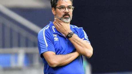Trainer David Wagner erlebt mit dem FC Schalke 04 bittere Wochen.
