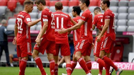 Gieriger Geister-Meister: Der FC Bayern München gewann auch gegen den SC Freiburg.