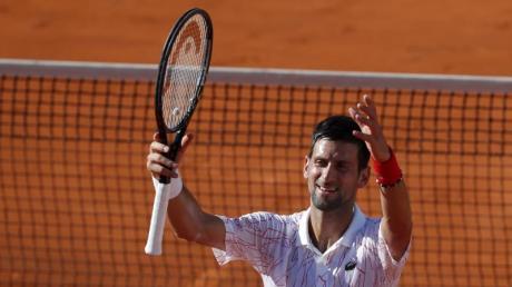Wurde nun auch positiv auf das Coronavirus getestet: Novak Djokovic.