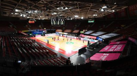 Das Finalturnier der Basketball-Bundesliga in München wird ohne Zuschauer ausgetragen.