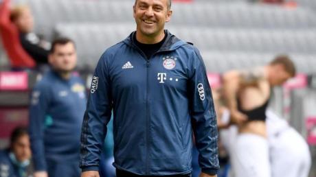 Wurde von der Übergangslösung zum Meister-Coach: Bayern-Trainer Hansi Flick.