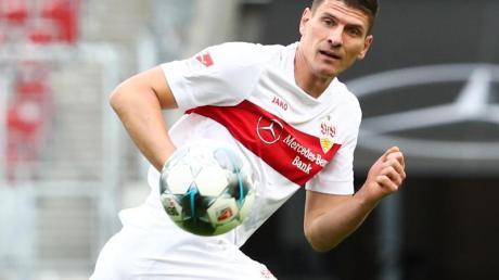 Wird den VfB Stuttgart zum Saisonende verlassen: Mario Gomez in Aktion.