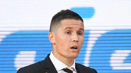 Jaka Lakovic hat seine erste Saison als Ulmer Trainer beendet.