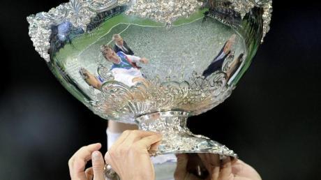 Wegen der Corona-Pandemie wird die Davis-Cup-Endrunde ins Jahr 2021 verlegt.