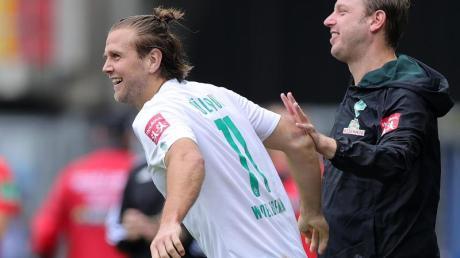 Steht gegen Köln in der Bremer Startformation: Niclas Füllkrug.