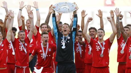 Geschafft: Die Bayern-Spiele feiern die 30. Meisterschaft der Vereinsgeschichte.