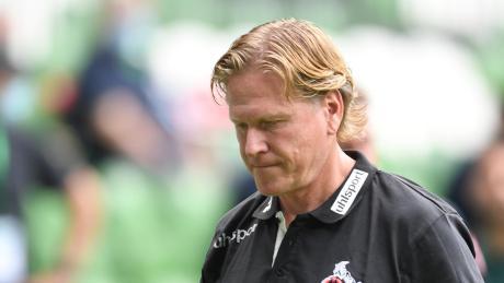 Verlor zum Saisonfinale 1:6 in Bremen: Kölns Trainer Markus Gisdol.
