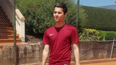 Seine zweite große Leidenschaft: Auch mit dem Tennis-Schläger beweist Stefan Brosi beim TC Klingsmoos sein Talent.