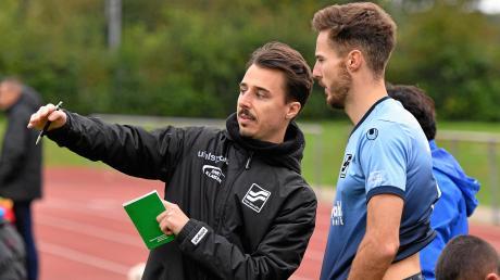 TSV Neu-Ulms Trainer Lukas Kögel will in der kommenden Landesligasaison als Spielertrainer fungieren.