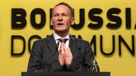 BVB-Boss Hans-Joachim Watzke möchte kein konkretes Saisonziel mehr formulieren.
