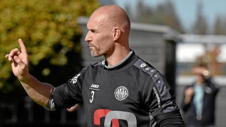 Sind für Sven Kresin die Tage als Trainer der Ersten Mannschaft des TSV Landsberg gezählt? Noch hat er keinen Vertrag.