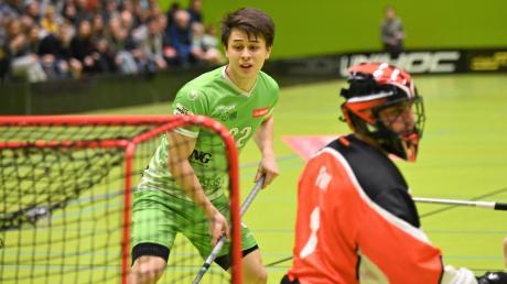 Tino von Pritzbuer spielt schon lange bei Waldkirch-St. Gallen. Sein Heimatklub, die Red Hocks Kaufering, kooperieren nun mit dem Schweizer Verein.