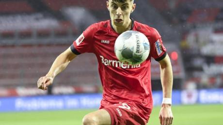 Darf in dieser Saison endlich auch gegen den FCBayern ran: Leverkusen-Youngster Kai Havertz.