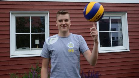 Moritz Gärtner aus Bobingen spielt künftig in der 2. Bundesliga Volleyball.