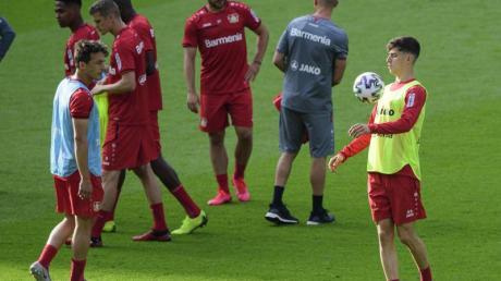Steht beim Pokalfinale im Blickpunkt: Leverkusens Kai Havertz.