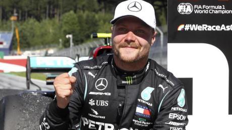 Mercedes-Pilot Valtteri Bottas siegte in Spielberg.